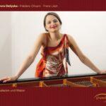 В новия си компактдиск Дора Делийска събира валсове и балади на Ференц Лист и Фредерик Шопен