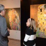 Репродукции на Густав Климт остават в София с благотворителна цел
