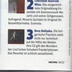 "Австрийското списание ""News"" похвали последния диск на Дора Делийска"