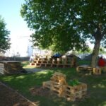 Виена: Домати, малини и билки на Карлсплац