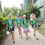 Лято: Деца в университета