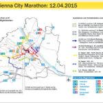 Vienna City Marathon 2015 – промени в движението по улиците на Виена