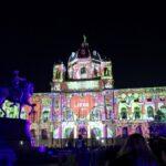 Wien leuchtet: Феерия от светли и цветове на Мария Терезия плац