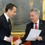 Новият канцлер на Австрия Кристиан Керн официално встъпи в длъжност