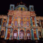 Wien leuchtet 2016: Светлинни картини озариха музеиите на Мария Терезия плац