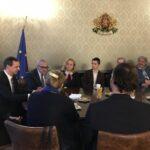 Български интелектуалци се срещнаха с министър Ради Найденов във Виена
