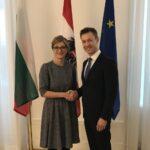 Вицепремиерът Екатерина Захариева е на посещение в Австрия