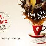 Световен ден на поезията: Плати кафето със стих