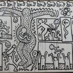 За буквите, Мики Маус и Прасето на Кийт Харинг