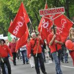 Манифестация и празник на плодородието в първия ден на май в Австрия