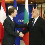 Очаква се Бойко Борисов лично да предаде щафетата на европейското председателство на Австрия