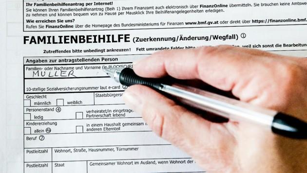 семейни помощи в Австрия, детски надбавки в Австрия