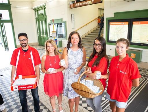 Управата на виенското метро раздава безплатни дезодоранти