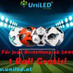UniLed със специални футболни промоции