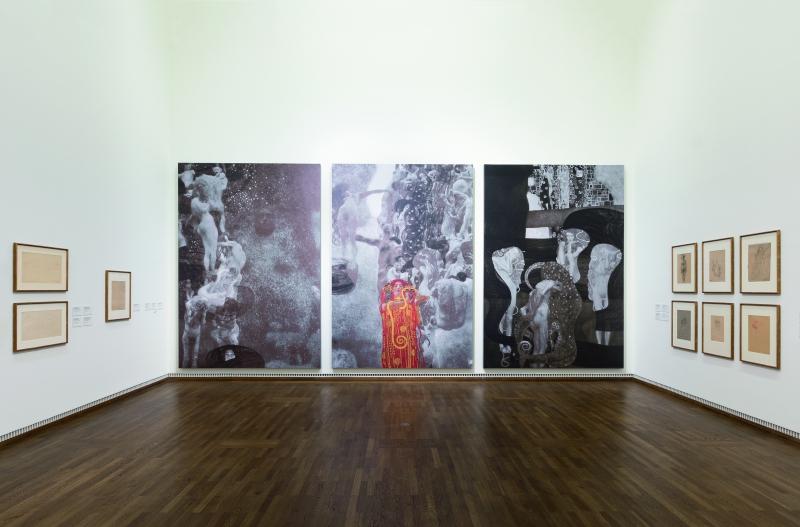 музея Леополд, изложба картини на Климт, Виена