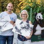 Рисуваща панда ще финансира фотоалбум на зоопарка в Шьонбрун