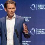 Себастиан Курц със силна проевропейска реч на форума в Алпбах