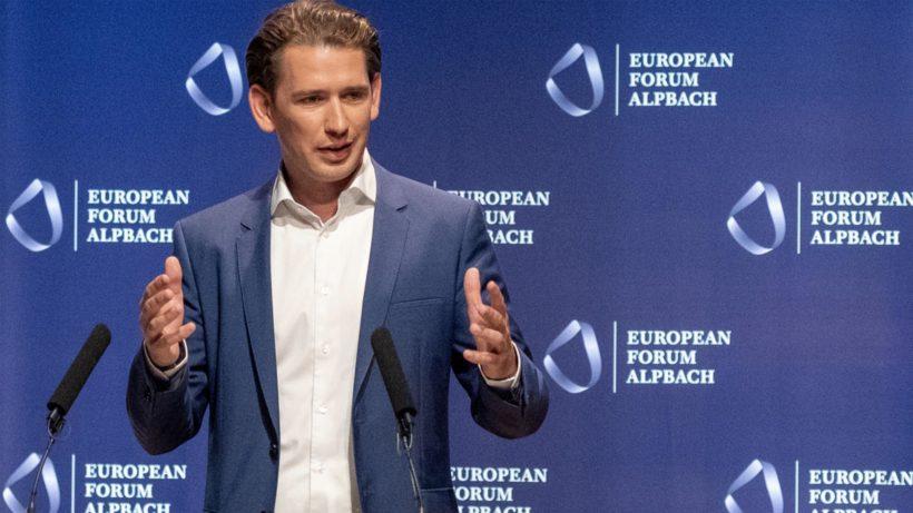 Австрийският канцлер Себастиан Курц иска Брюксел да спре попечителството си спрямо държавите членки на ЕС