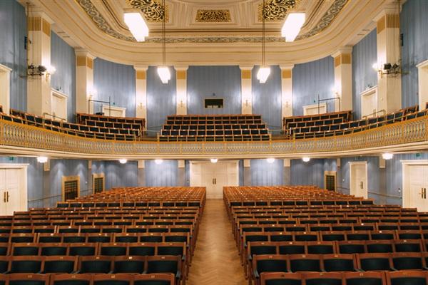 """Зала """"Моцарт"""" във Виенер Концертхауз"""