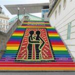 стълбището на музея Албертина