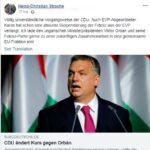 Вицеканцлерът Щрахе предлага сътрудничество на Орбан в Европейския парламент, канцлерът Курц се дистанцира