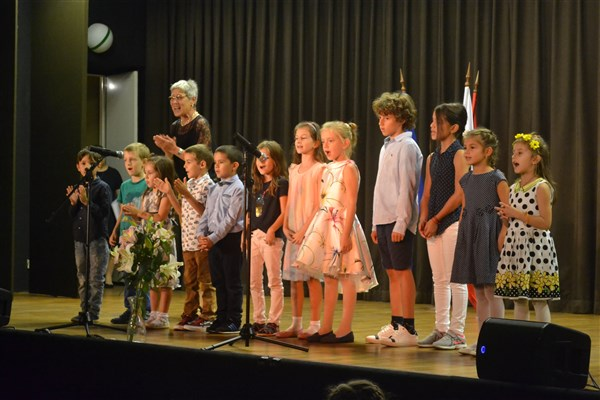 първокласници, българско училище Виена