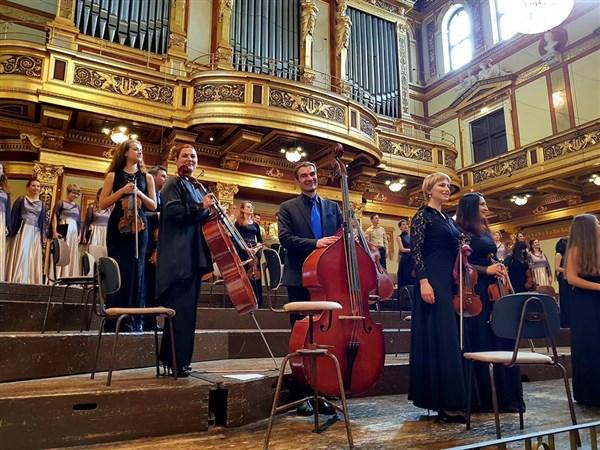 """""""Етюди на бъдещето"""" - световна премиера в Музикферайн, Виена"""