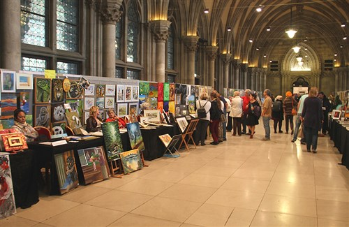 Amateurkunstmesse Wien Rathaus