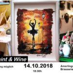 Wine&Paint: Рисувай и релаксирай с приятели на чаша вино