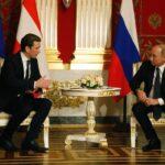 """Путин обвини България в слабост по отношение на """"Южен поток"""" по време на пресконференция с австрийския канцлер Курц"""