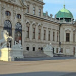 белведере, вход, Виена
