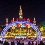 Започва коледният базар пред Виенското кметство