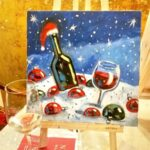 Christmas party with Glass of Art