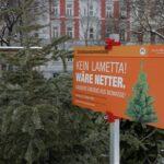 Следпразнична екологична употреба на елхите