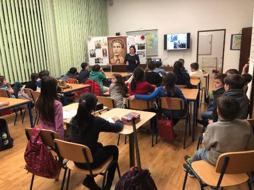 Българско училище, Виена, Левски