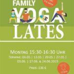Ново: Йогалатес  за родители и деца