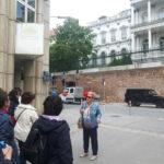 """Българските следи в двореца """"Кобург"""" и историята на Щатпарк проследи за нашите гости екскурзоводката Диана Пиперова"""