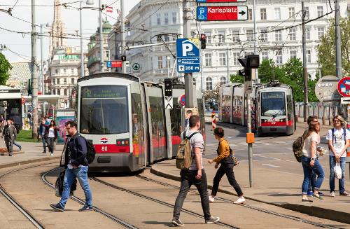 Виена умни светофари