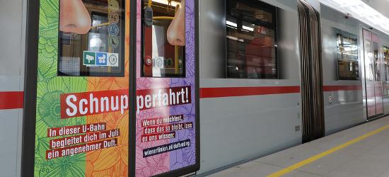 парфюм във виенското метро