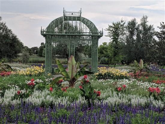 цветни градини Хиршщетен, Виена