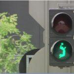 Специални светофари радват феновете на волейбола във Виена