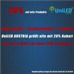 Фирма UniLED с щедра промоция по случай националния празник на Австрия 26 октомври