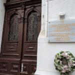 Паметна плоча указва дома, в който е живяла Гена Димитрова във Виена