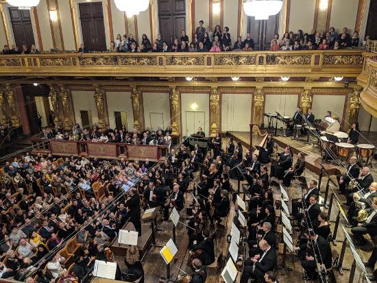 Софийска филхармония, Музикферайн, Виена