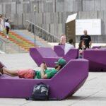 Лежанките в Квартала на музеите във Виена тази година ще бъдат зелени