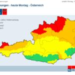 10.02: Повече от 60 парка във Виена са затворени заради силен вятър