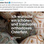 Себастиан Курц поздрави православните християни в Австрия с Великден