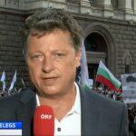 Протестите в България се отразяват ежедневно от австрийските медии