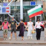 Българи връчиха на представител на ЕК във Виена петиция с искане европейските институции да се произнесат за ситуацията в България