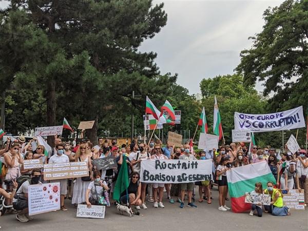 Протест Виена3 е и срещу бездействието на европейските институции спрямослучващото се в България